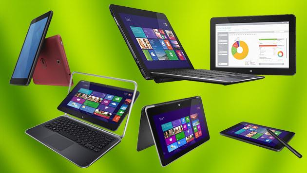 Dell kündigt gleich fünf neue Touch-Boliden an (Bild: Dell, thinkstockphotos.de, krone.at-Grafik)