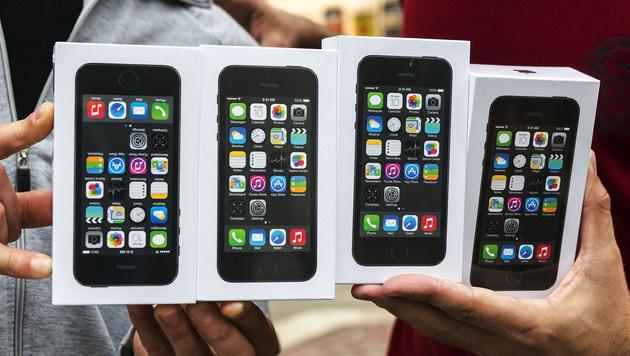 """Qualcomm: 64 Bit im iPhone nur """"Marketing-Schmäh"""" (Bild: AP)"""