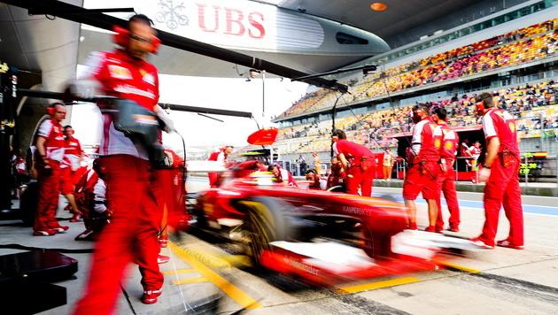 F1-Teams wehren sich gegen Rekord-Kalender 2014 (Bild: EPA)