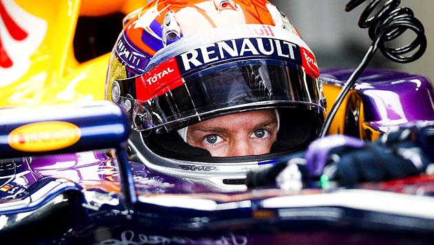 Vettel holt Pole Position vor Hamilton (Bild: EPA)