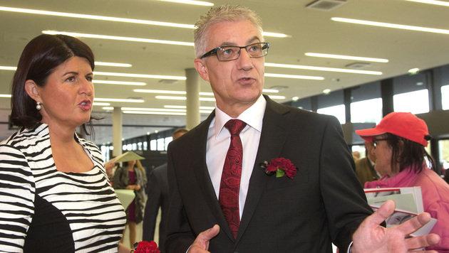 Walter Steidl mit 95 Prozent neuer SPÖ-Landeschef (Bild: APA/Neumayr/MMV)