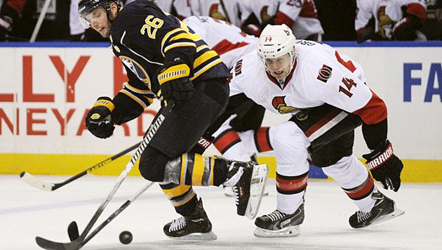 Erstes Saisontor von Vanek zu wenig für Buffalo (Bild: AP)