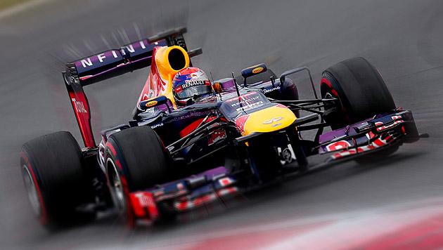 Vettel gewinnt zum 3. Mal in Folge GP von Südkorea (Bild: EPA, krone.at-Grafik)