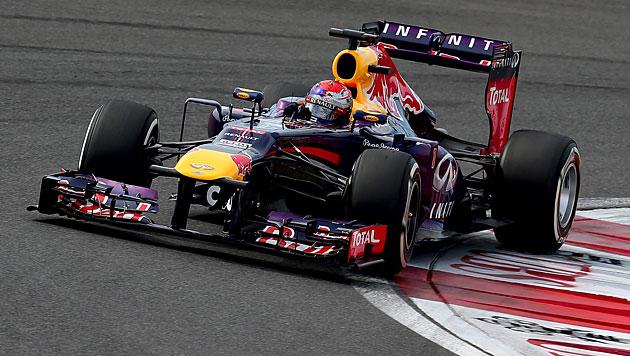 Vettel gewinnt zum 3. Mal in Folge GP von Südkorea (Bild: EPA)
