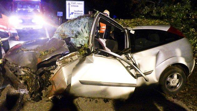 19-Jähriger löste nach Unfall große Suchaktion aus (Bild: Daniel Scharinger)