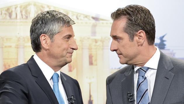 """ÖVP ortet """"einige Überschneidungen"""" mit FPÖ (Bild: APA/HERBERT NEUBAUER)"""