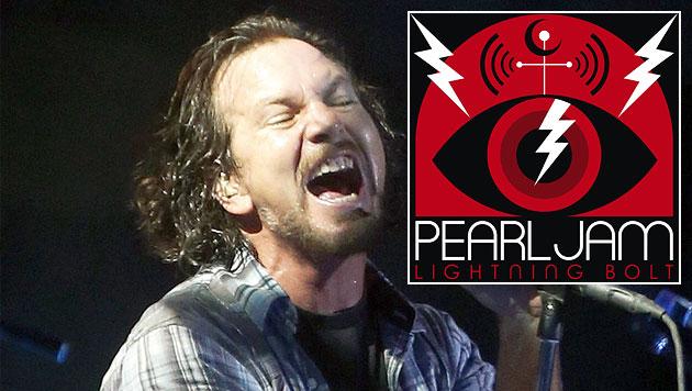 Pearl Jam melden sich mit einem Blitzschlag zurück (Bild: Universal Music)