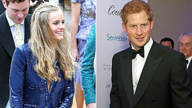 Harry soll Cressida im nächsten Jahr heiraten (Bild: AP)
