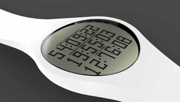 Tikker: Diese Uhr zeigt an, wie lang man noch lebt (Bild: mytikker.com)