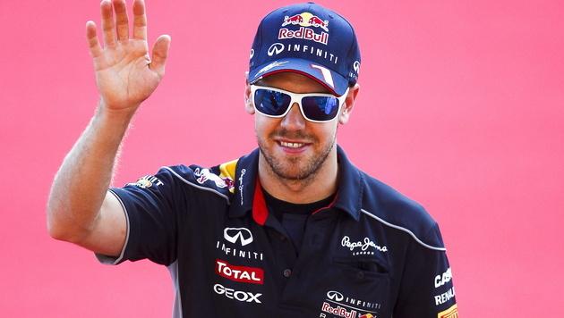 Vettel wäre bei 8. Sieg in Serie neuer Rekordmann (Bild: EPA)