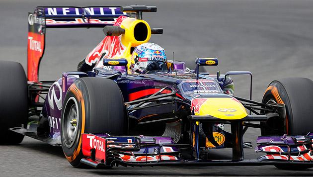 Freitagsbestzeit für Sebastian Vettel in Suzuka (Bild: EPA)