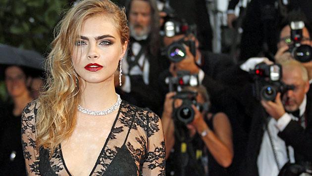 Model Delevingne startet als Schauspielerin durch (Bild: EPA)