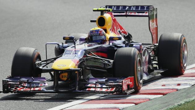 """Webber holt in Suzuka """"Pole"""" vor Vettel (Bild: EPA)"""