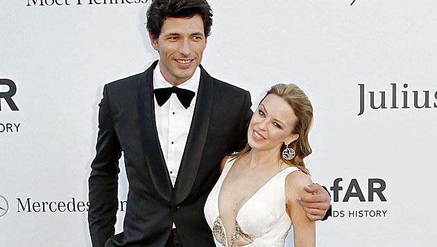 Kylie Minogue trennt sich von ihrem Model-Freund (Bild: EPA)