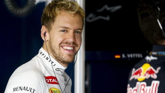 """Vettel gönnt sich jetzt """"ein bisschen Ruhe"""" (Bild: EPA)"""