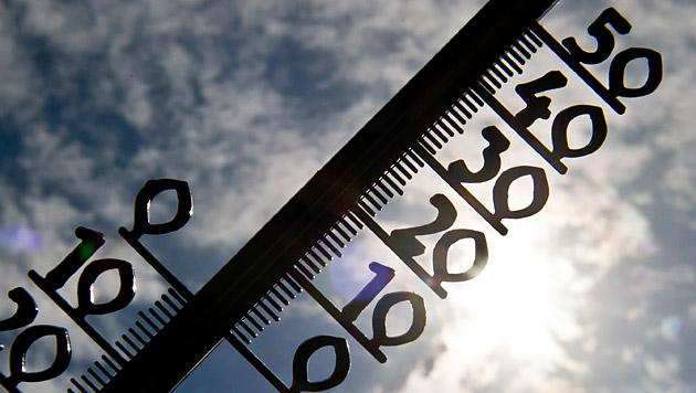 35,5 Grad: Neuer Hitzerekord im September (Bild: dpa/Tobias Kleinschmidt)