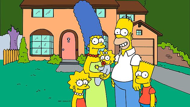 """Blutige Gerüchte um Kultserie """"Die Simpsons"""" (Bild: AP)"""