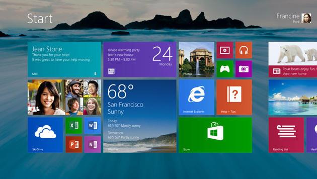 Windows 8.1: Update verbessert Bedienung per Maus (Bild: Microsoft)