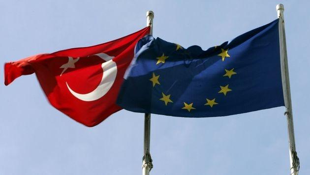 """""""Abbruch der Türkei-Gespräche wäre großer Fehler"""" (Bild: dpa/Matthias Schrader)"""