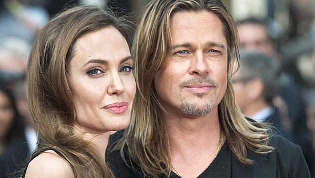 Hier stiehlt Vivienne Mama Angelina Jolie die Show (Bild: EPA)