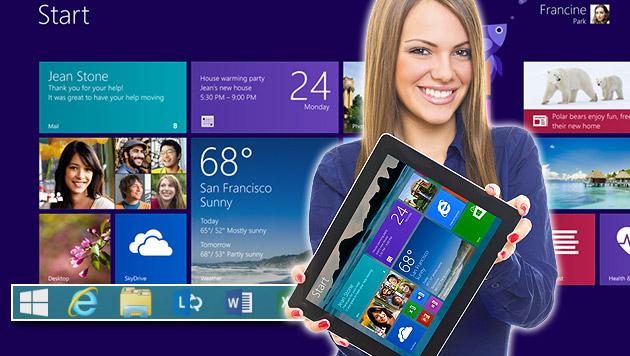 Microsoft bestätigt Windows 8.1 mit Bing (Bild: Microsoft, thinkstockphotos.de, krone.at-Grafik)