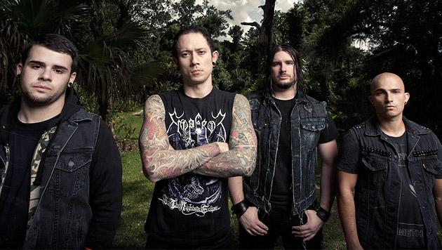 """Trivium: """"Die Leute wissen, wir machen Metal"""" (Bild: Warner Music.)"""