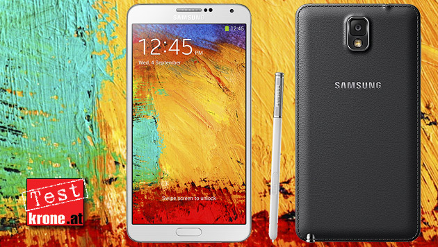 Galaxy Note 3: Stift-Akrobat mit Traum-Display (Bild: Samsung, krone.at-Grafik)