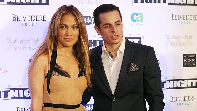 Jennifer Lopez hat Toyboy Casper rausgeworfen (Bild: EPA)