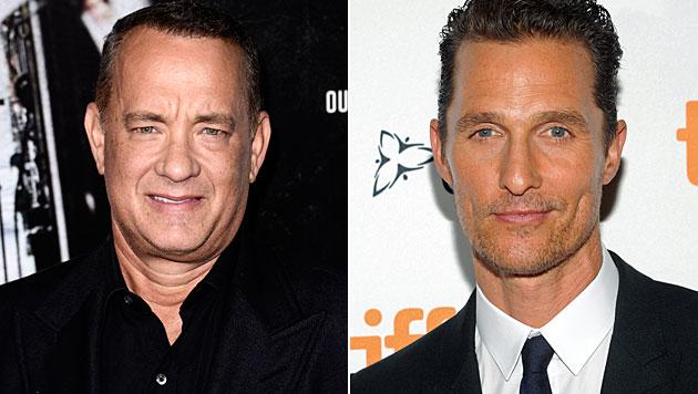 McConaughey holte sich Abnehmtipps von Tom Hanks (Bild: AP)