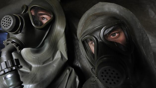 Österreich bietet fünf C-Waffen-Experten an (Bild: APA/ROBERT JAEGER)