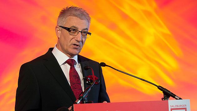 Salzburgs SPÖ-Chef Walter Steidl (Bild: APA/Neumayr/MMV)