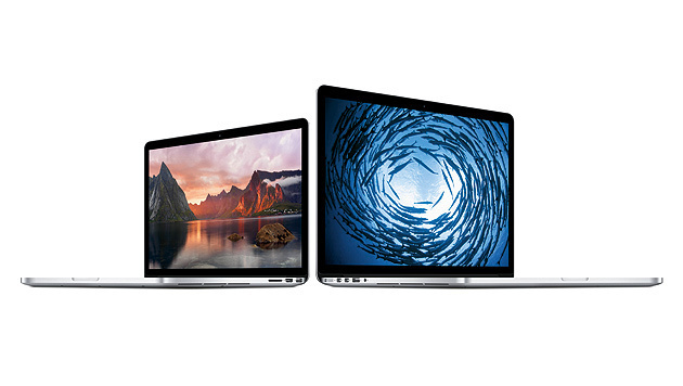 Apple aktualisiert MacBook Pros mit Retina-Display (Bild: Apple)