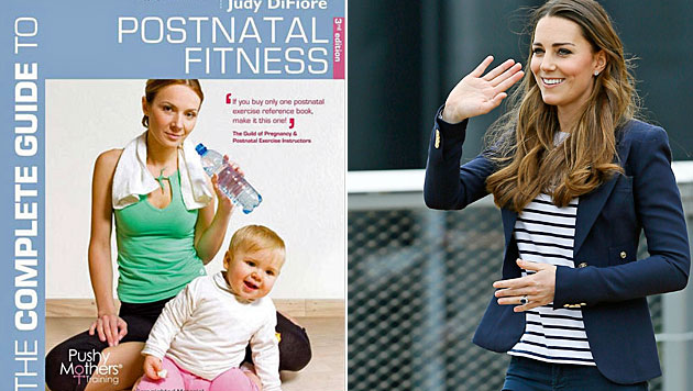 Geheimnis um Kates After-Baby-Body gelüftet (Bild: A&C Black, AP)