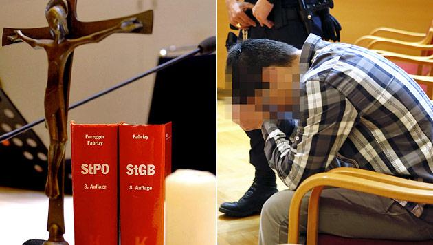 Mithäftling zu Oralsex gezwungen: 2 Schuldsprüche (Bild: APA/BARBARA GINDL, APA/RUBRA)