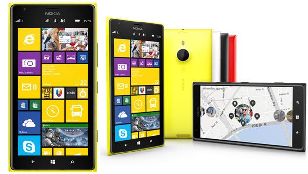 Nokia enthüllt Riesen-Smartphones und RT-Tablet (Bild: Lumia 1520 - Quelle: Nokia)