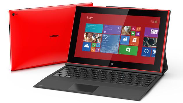 Nokia enthüllt Riesen-Smartphones und RT-Tablet (Bild: Lumia 2520 - Quelle: Nokia)