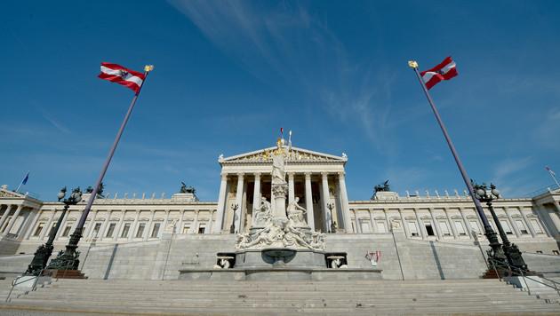 Parlament wird um rund 350 Mio. Euro renoviert (Bild: APA/Roland Schlager)
