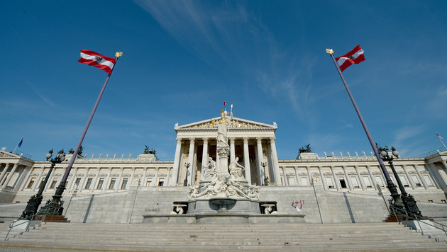 Parlamentsumbau: Nationalrat weicht in Hofburg aus (Bild: APA/Roland Schlager)