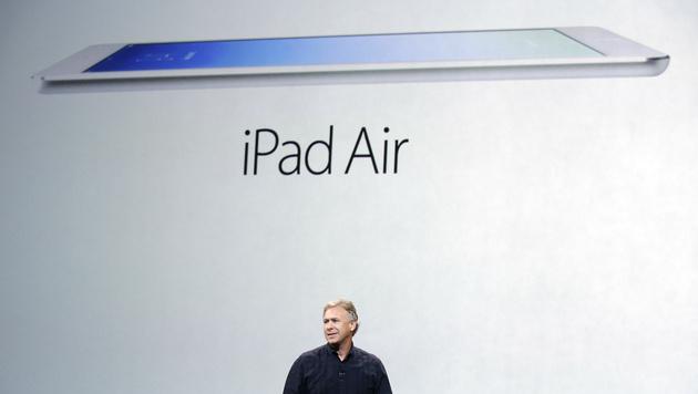 Superdünn & leicht: Apple stellt das iPad Air vor (Bild: AP)