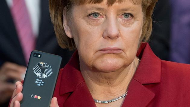 "Blackberry kauft ""Merkel-Phone""-Entwickler (Bild: EPA)"