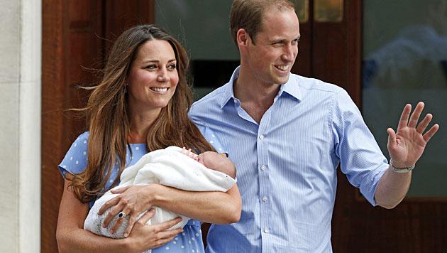 Herzogin Kate: Die neue Königin der Herzen (Bild: AP)