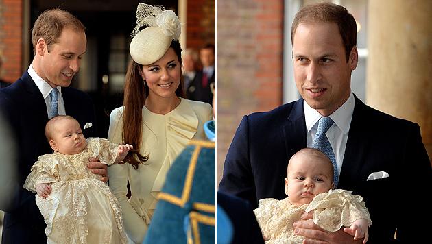 Prinzessin Charlotte Elizabeth Diana ist getauft (Bild: AP)