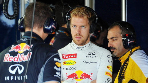 Vettel reicht schon Platz fünf für den Titel (Bild: EPA)