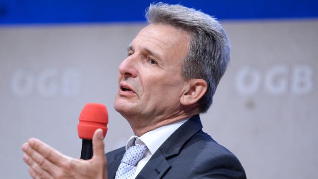 Erich Foglar (Bild: APA/Robert Jäger)