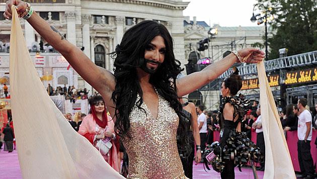 Weißrussen wollen Conchita nicht beim Song Contest (Bild: APA/Herbert P. Oczeret)