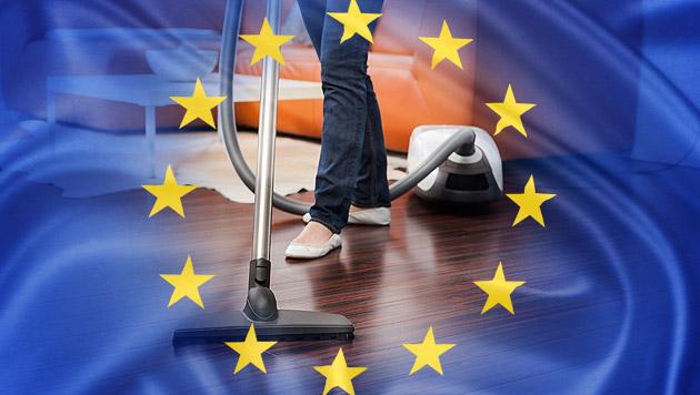 Aus für stromfressende Staubsauger in der EU (Bild: thinkstockphotos.de, krone.at-Grafik)