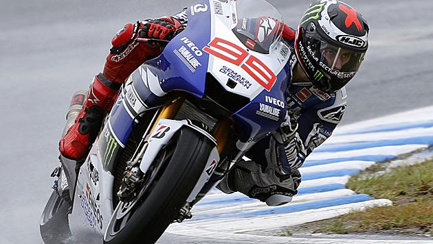 Jorge Lorenzo verlängert bei Yamaha um zwei Jahre (Bild: AP)
