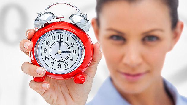 Machen Sie Ihre innere Uhr fit f�r die Winterzeit! (Bild: thinkstockphotos.de, krone.at-Grafik)