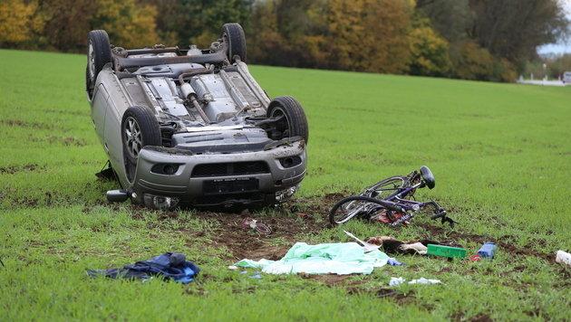 Radfahrer stirbt nach Kollision mit Auto in OÖ (Bild: laumat.at/Matthias Lauber)