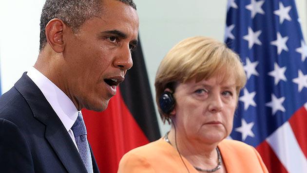 """Obama: """"Als Deutscher würde ich Merkel wählen"""" (Bild: AP)"""